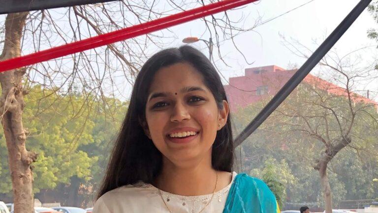 Leadership Journey – Shrashti Jain, Shri Ram College of Commerce, Delhi University